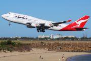 VH-OEE - QANTAS Boeing 747-400ER aircraft