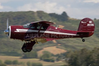 NC80316 - Private Beechcraft 17 Staggerwing