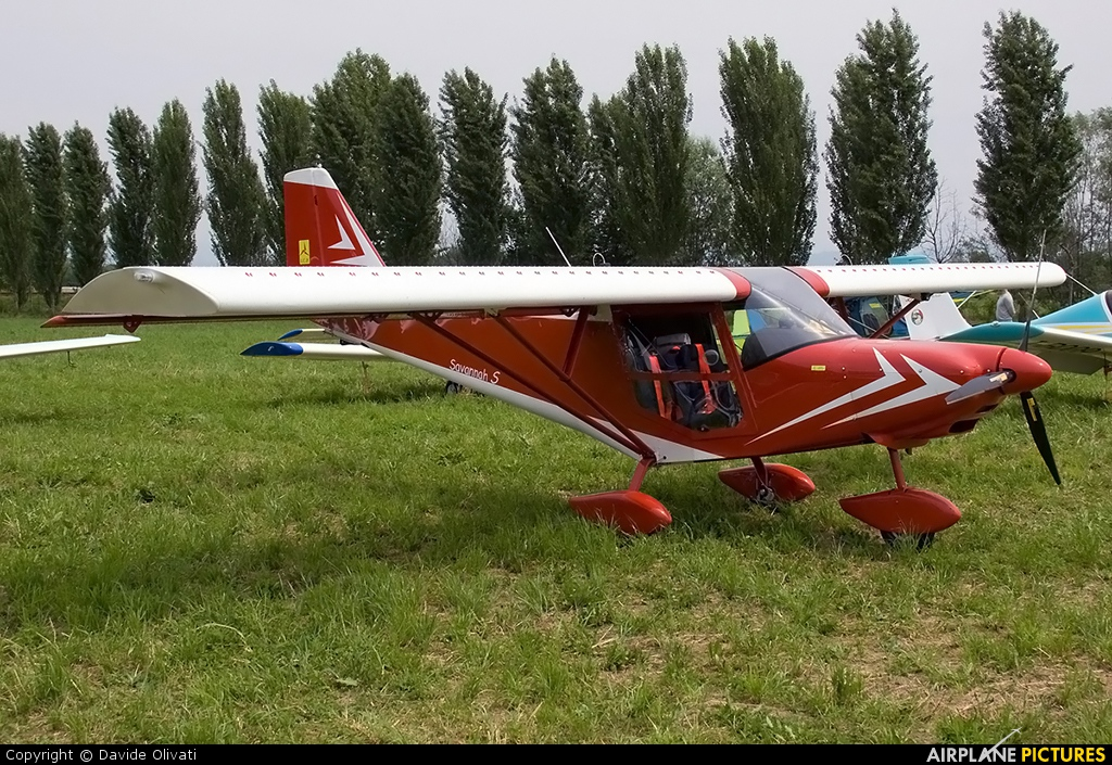 Private I-B149 aircraft at Bergamo - Caravaggio
