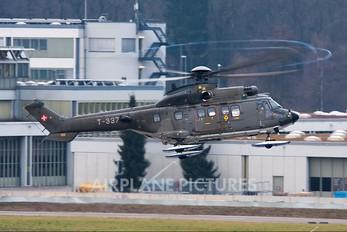 T-337 - Switzerland - Air Force Aerospatiale AS532 Cougar