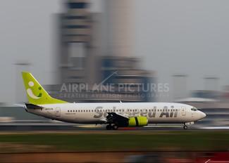 JA737B - Solaseed Air - Skynet Asia Airways Boeing 737-400