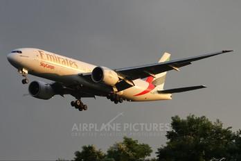 A6-EFD - Emirates Sky Cargo Boeing 777F