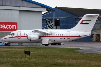 A6-LIW - United Arab Emirates - Government British Aerospace BAe 146-100/Avro RJ70