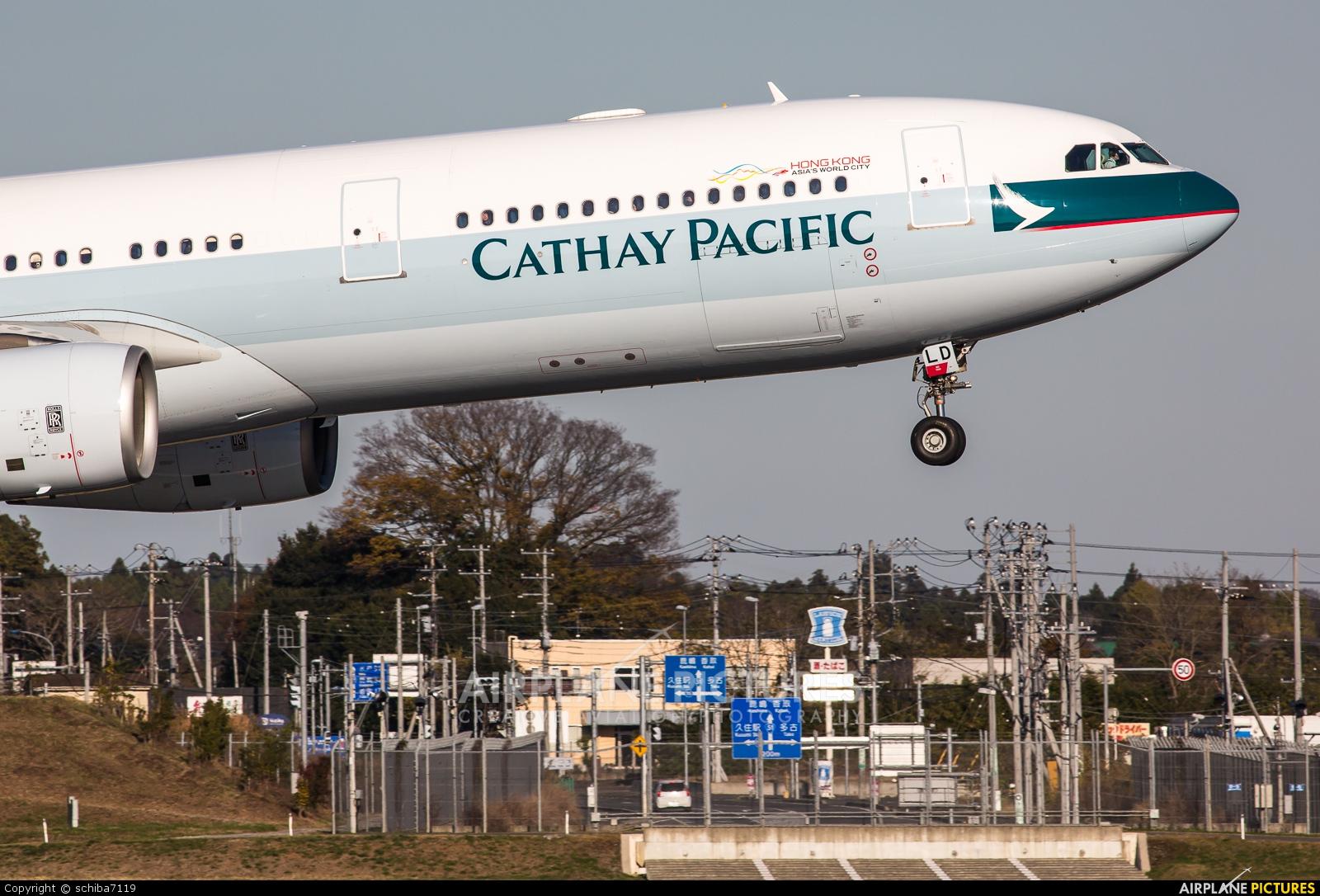Cathay Pacific B-HLD aircraft at Tokyo - Narita Intl