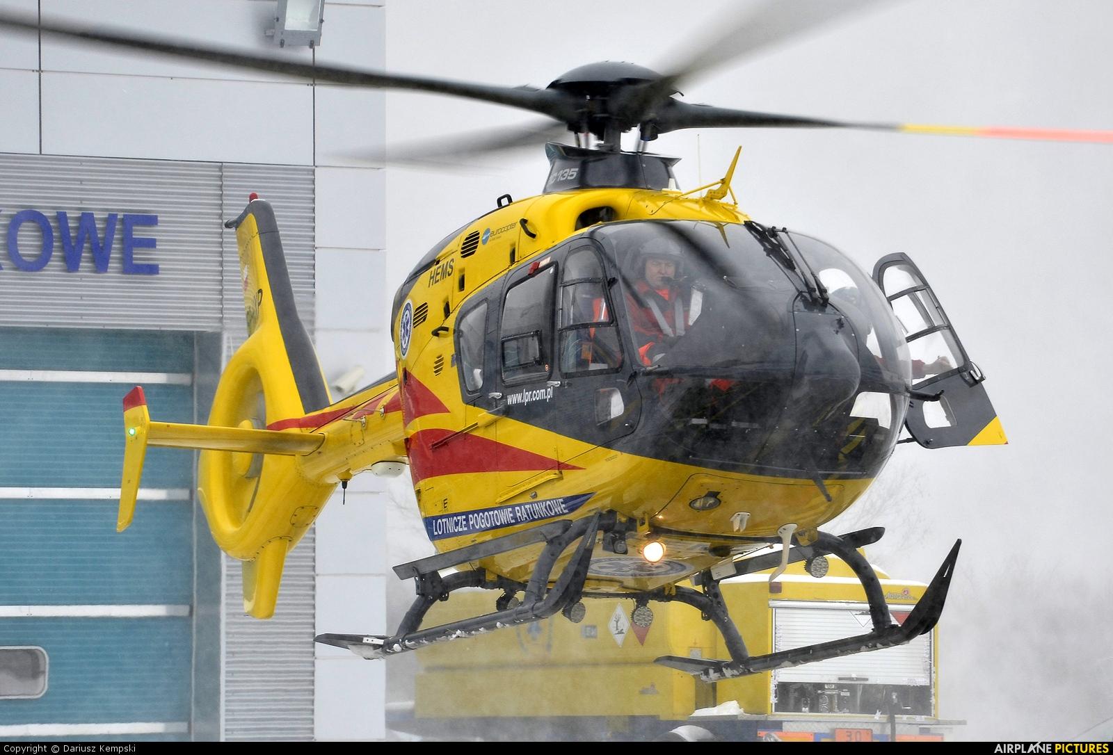 Polish Medical Air Rescue - Lotnicze Pogotowie Ratunkowe SP-HXP aircraft at Łódź - Lublinek