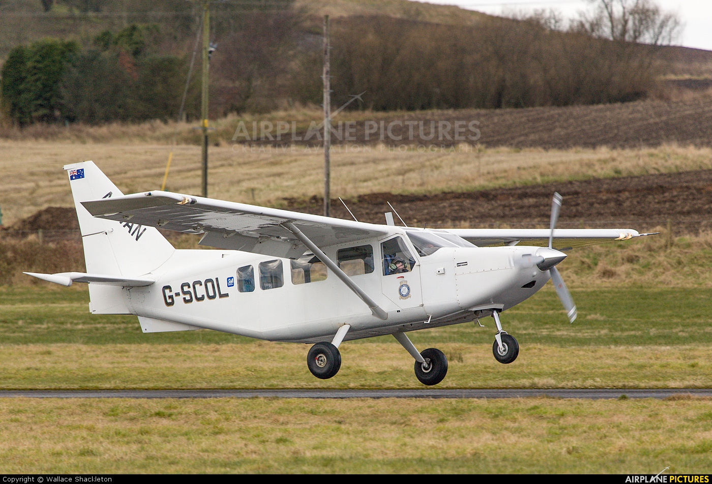 Private G-SCOL aircraft at Perth - Scone