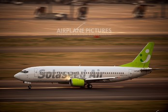 JA737E - Solaseed Air - Skynet Asia Airways Boeing 737-400