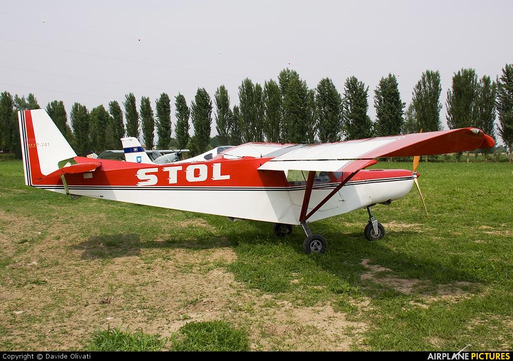 Private I-3812 aircraft at Bergamo - Caravaggio