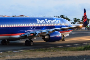 N818SY - Sun Country Airlines Boeing 737-800