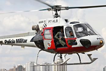 PT-HLB - Brazil - Police Eurocopter AS350 Ecureuil / Squirrel