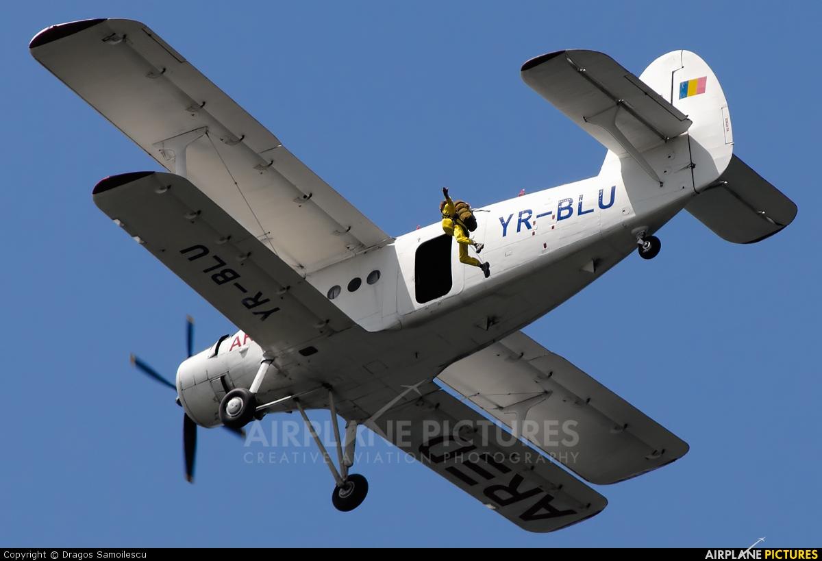 Private YR-BLU aircraft at In Flight - Romania