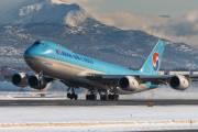 HL7609 - Korean Air Cargo Boeing 747-8F aircraft