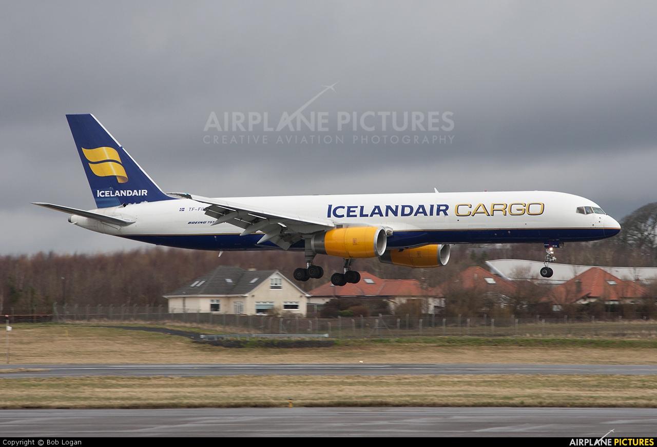 Icelandair Cargo TF-FIH aircraft at Prestwick