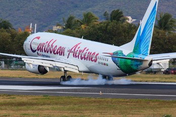 9Y-KIN - Caribbean Airlines  Boeing 737-800