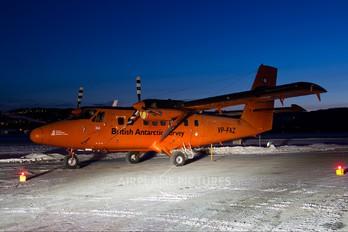 VP-FAZ - British Antarctic Survey de Havilland Canada DHC-6 Twin Otter