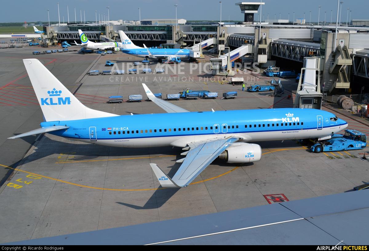 KLM PH-BCA aircraft at Amsterdam - Schiphol