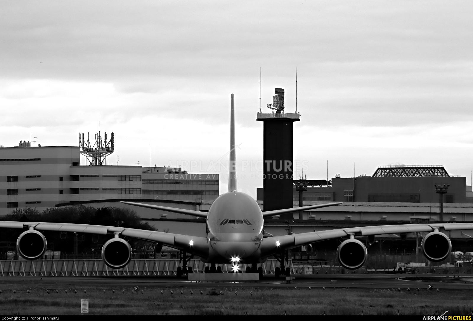 Korean Air HL7614 aircraft at Tokyo - Narita Intl
