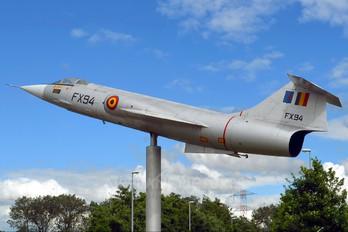 FX-94 - Belgium - Air Force Lockheed F-104G Starfighter