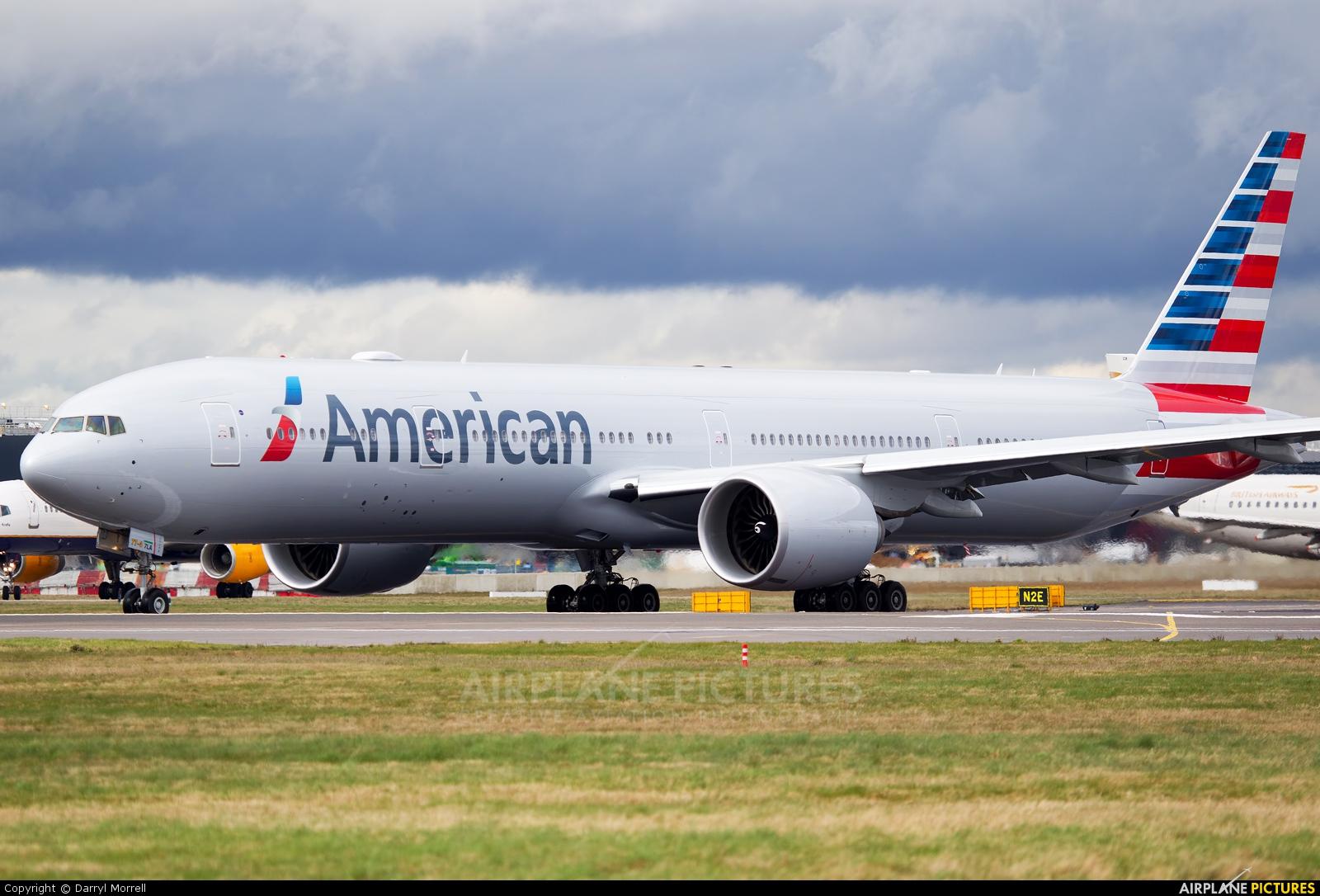 American Airlines N717AN aircraft at London - Heathrow