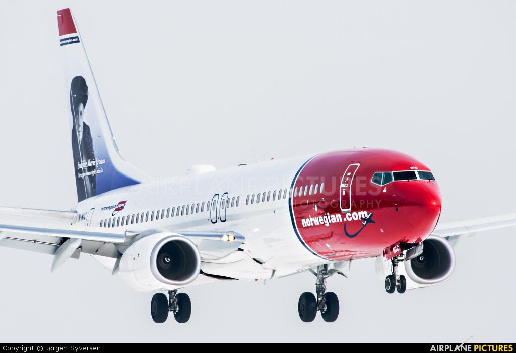 Norwegian Air Shuttle LN-NIC aircraft at Oslo - Gardermoen