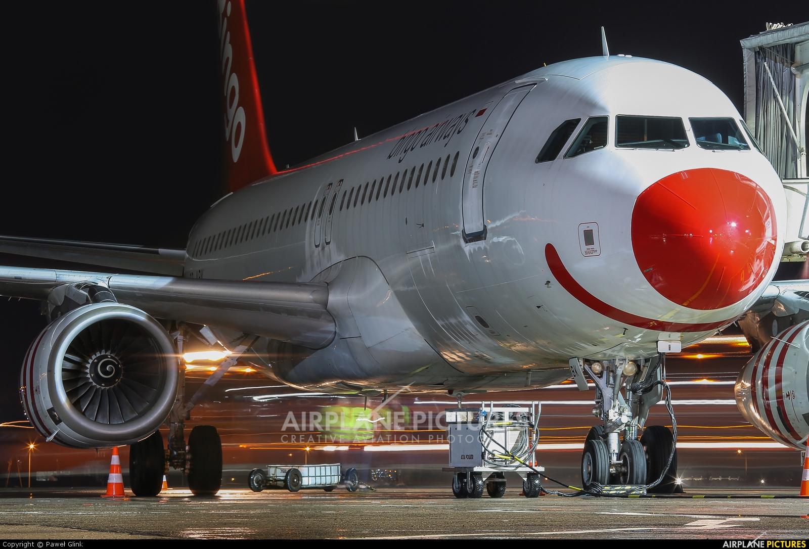Bingo Airways SP-ABK aircraft at Gdańsk - Lech Wałęsa