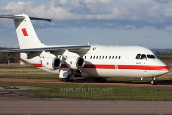 A9C-AWL - Bahrain Amiri Flight British Aerospace BAe 146-300/Avro RJ100
