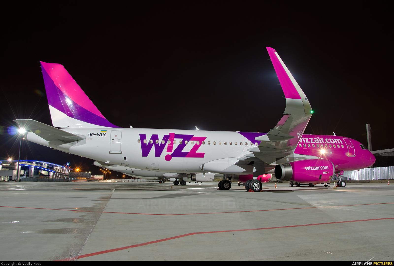 Wizz Air UR-WUC aircraft at Kyiv - Zhulyany