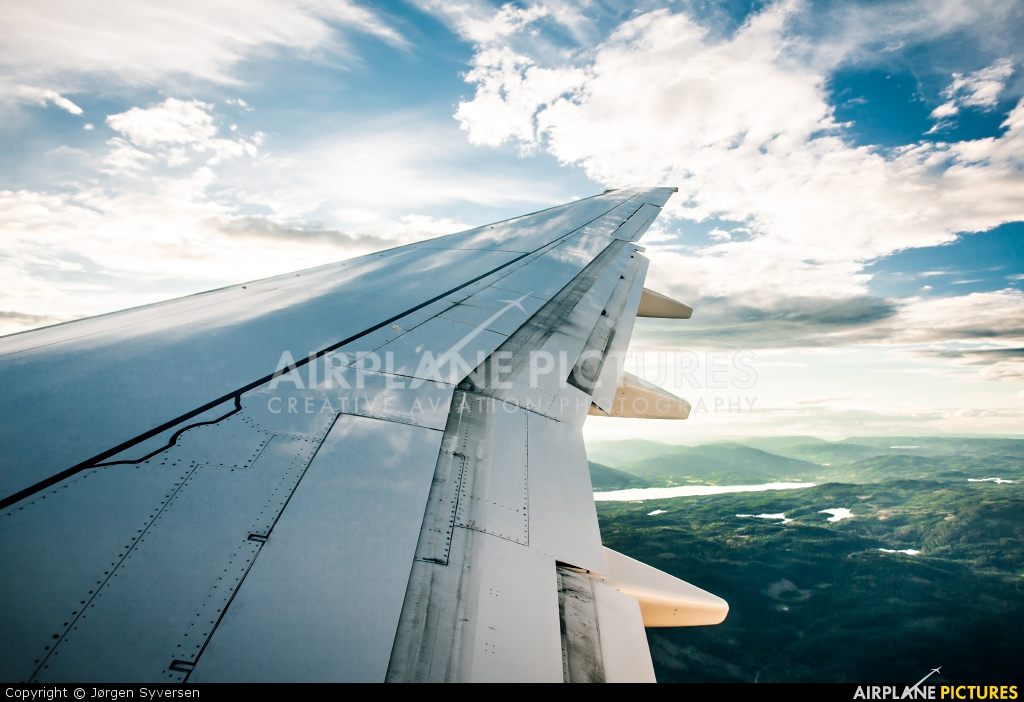 SAS - Scandinavian Airlines LN-TUI aircraft at In Flight - Norway