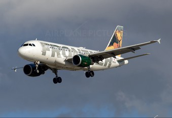 N952FR - Frontier Airlines Airbus A319