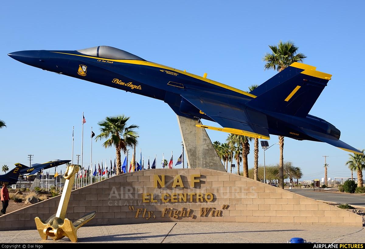 USA - Navy : Blue Angels 162448 aircraft at El Centro NAS