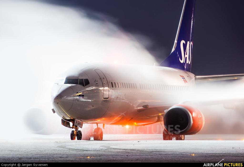 SAS - Scandinavian Airlines LN-RPK aircraft at Oslo - Gardermoen
