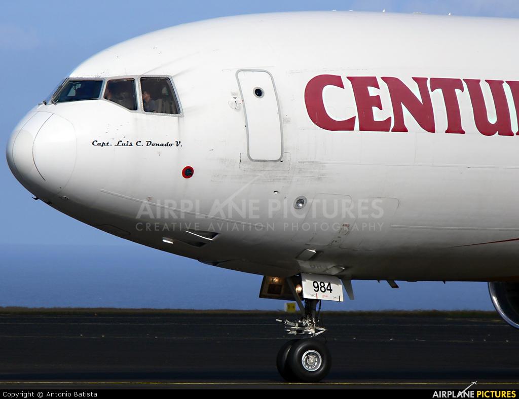 Centurion Air Cargo N984AR aircraft at Azores - Santa Maria