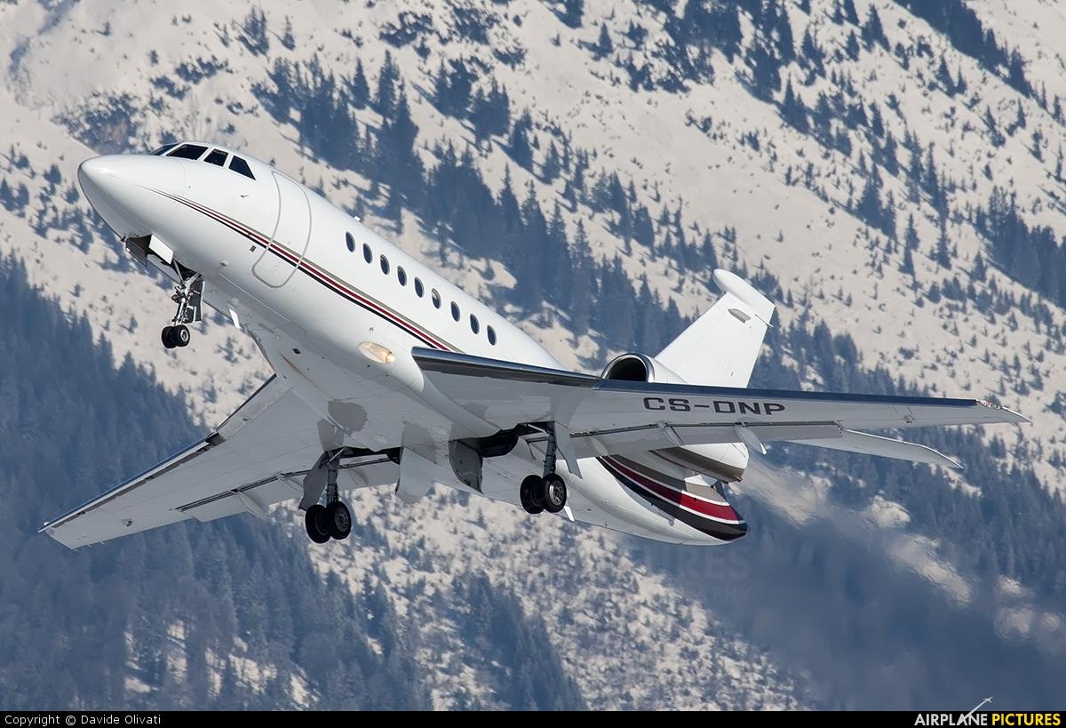 NetJets Europe (Portugal) CS-DNP aircraft at Innsbruck