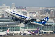 JA8966 - ANA - All Nippon Airways Boeing 747-400 aircraft