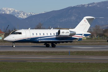 HB-JFA - Private Canadair CL-600 Challenger 600 series
