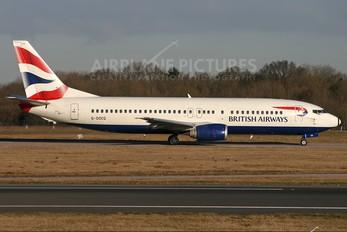 G-DOCG - British Airways Boeing 737-400