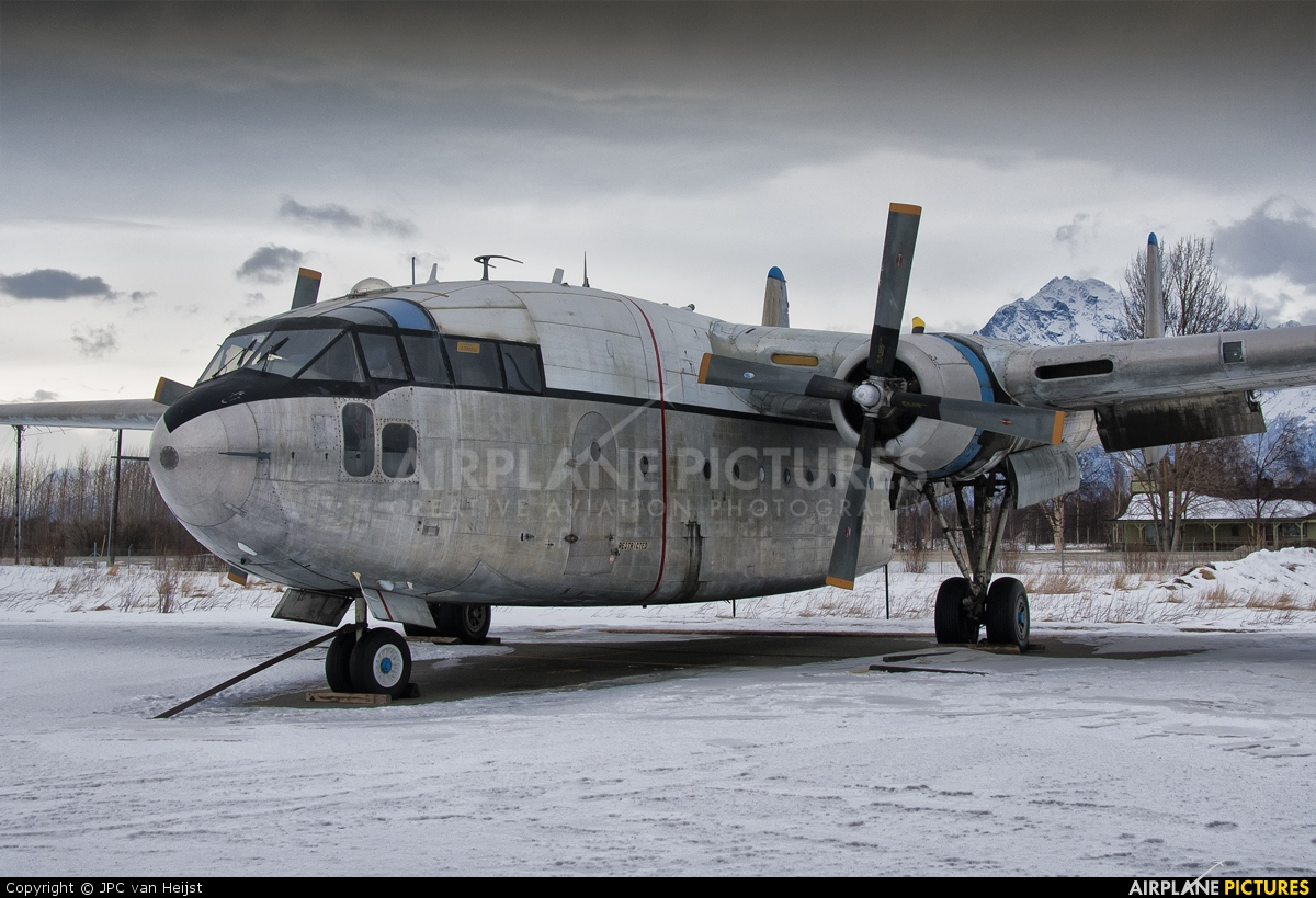 N8501W - Private Fairchild C-119 Flying Boxcar at Palmer ...