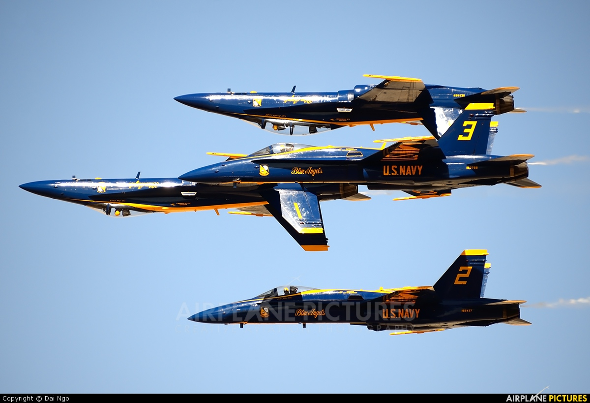 USA - Navy : Blue Angels 163768 aircraft at El Centro NAS