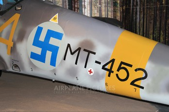 MT-452 - Finland - Air Force Messerschmitt Bf.109G