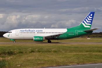 VH-NLK - Norfolkair Boeing 737-300