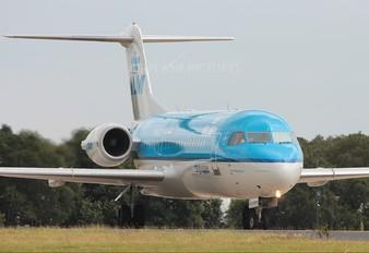 PH-KZV - KLM Cityhopper Fokker 70