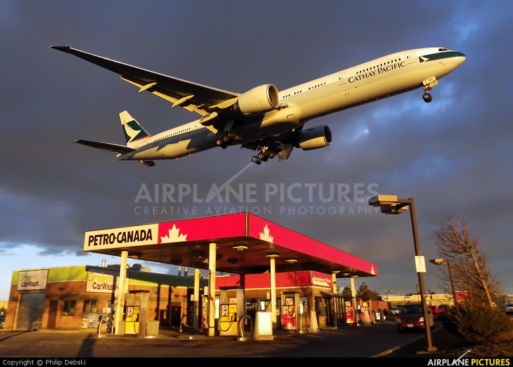 Cathay Pacific B-KQC aircraft at Toronto - Pearson Intl, ON