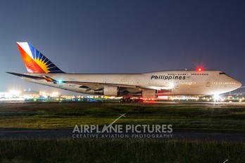 RP-C7471 - Philippines Airlines Boeing 747-400