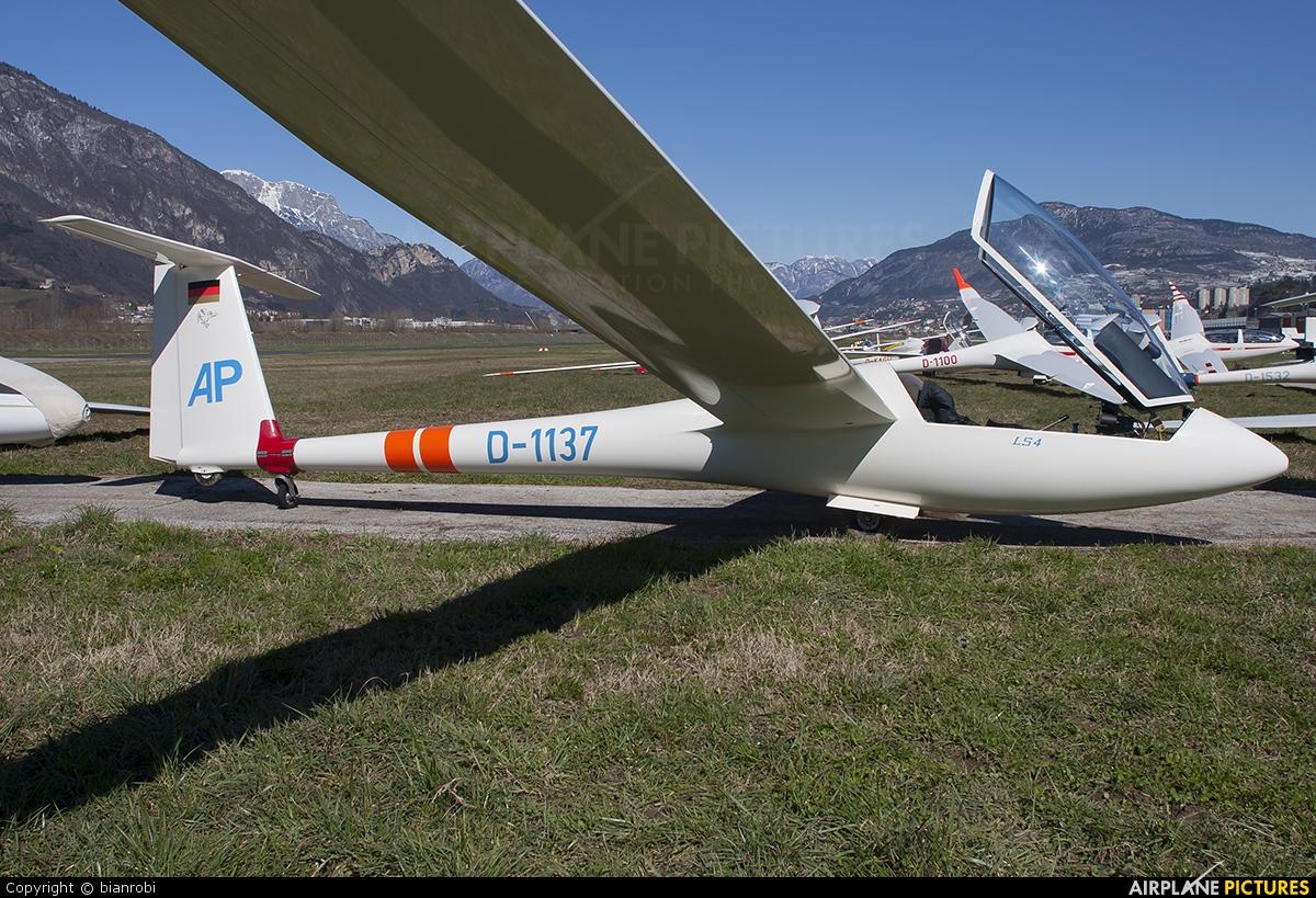Private D-1137 aircraft at Trento - Mattarello