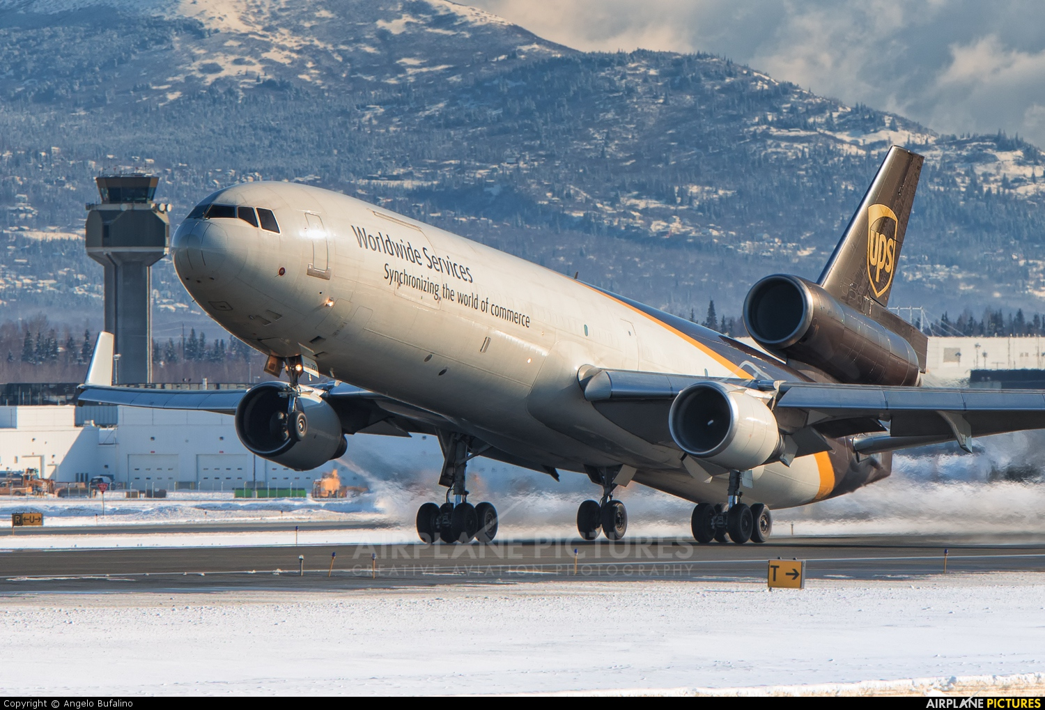 UPS - United Parcel Service N291UP aircraft at Anchorage - Ted Stevens Intl / Kulis Air National Guard Base