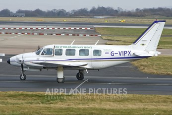 G-VIPX - Isle of Man Air Ambulance Service Piper PA-31 Navajo (all models)