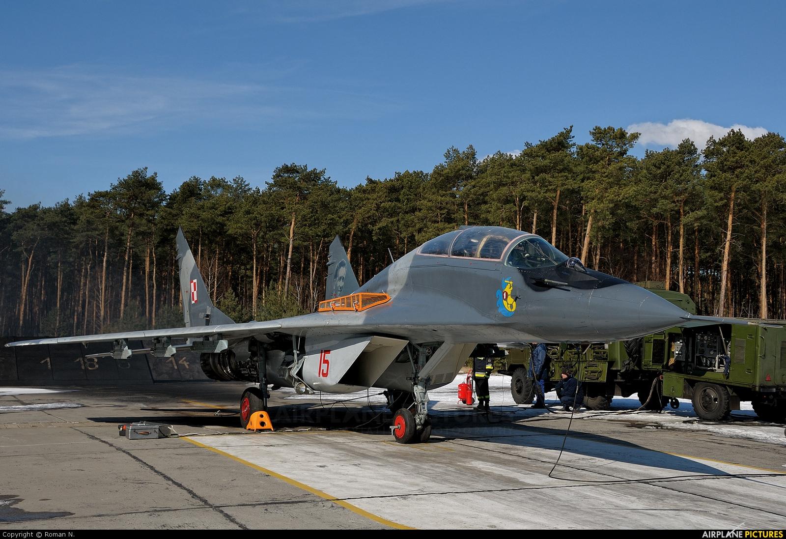 Poland - Air Force 15 aircraft at Bydgoszcz - Szwederowo