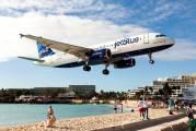 N594JB - JetBlue Airways Airbus A320 aircraft