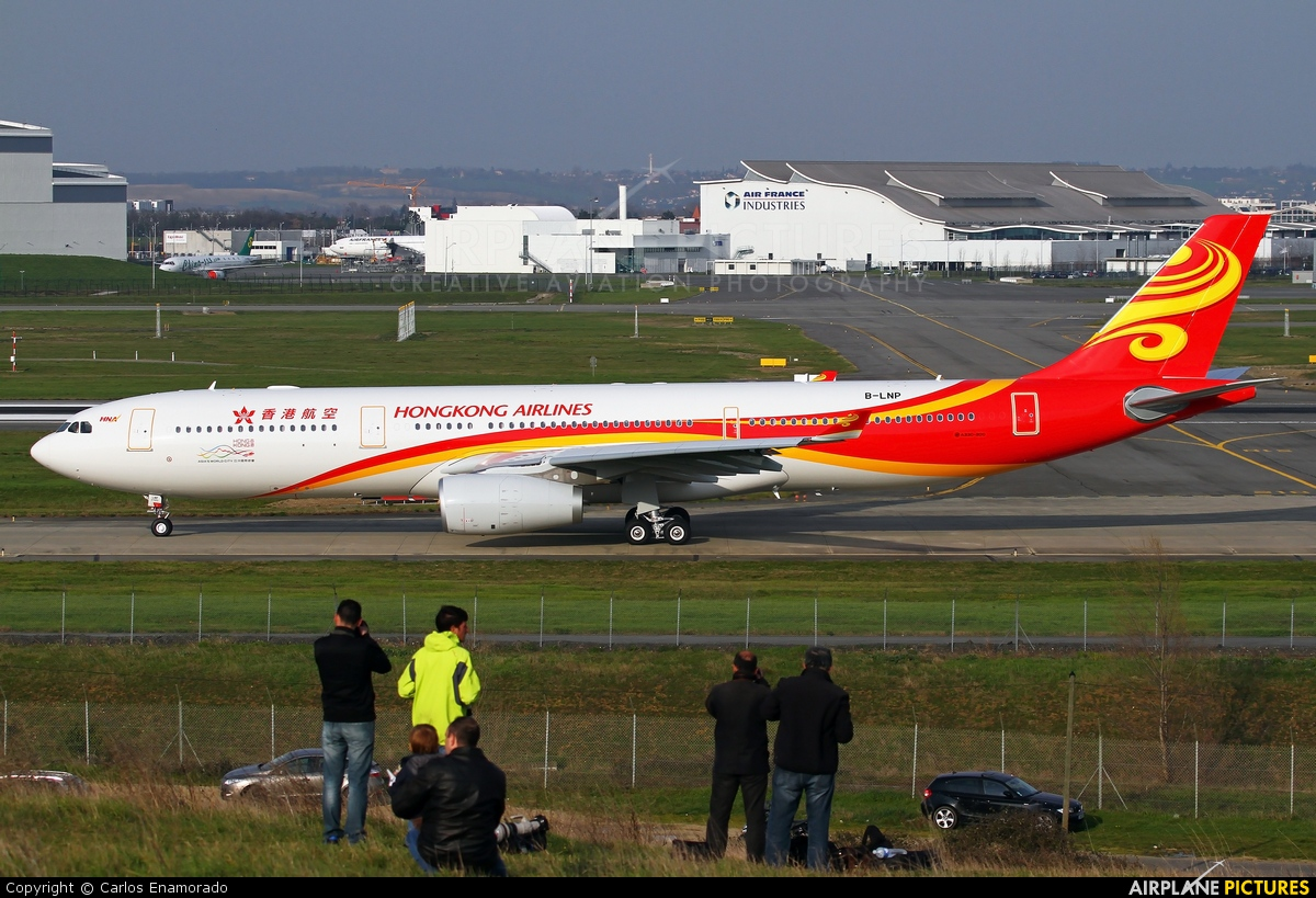 Hong Kong Airlines B-LNP aircraft at Toulouse - Blagnac