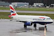 G-EUPC - British Airways Airbus A319 aircraft